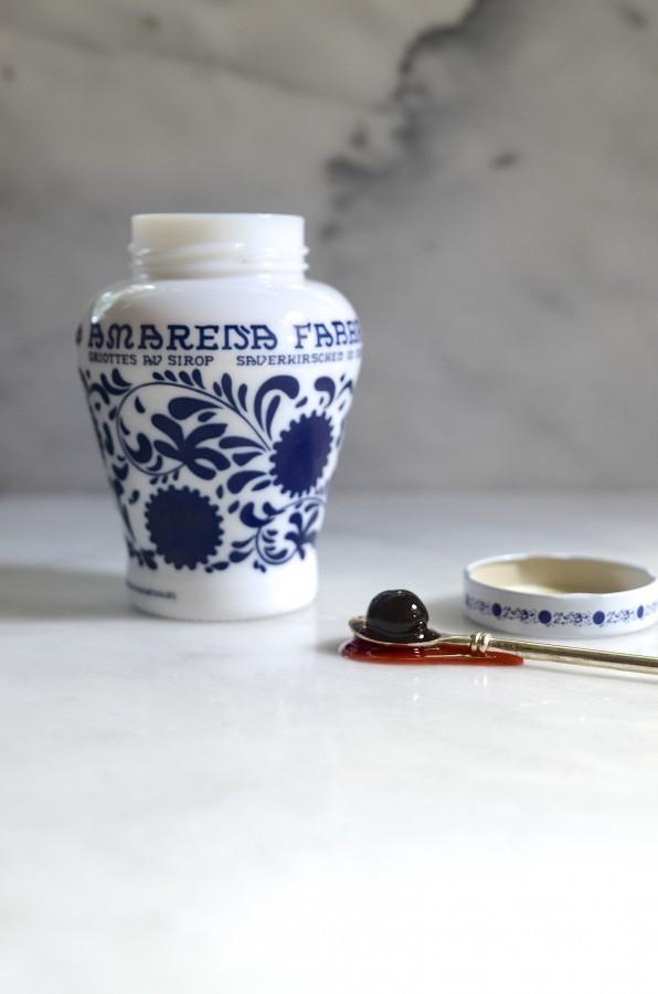 Amarena cherry ice cream | Bibbyskitchen ice cream recipes