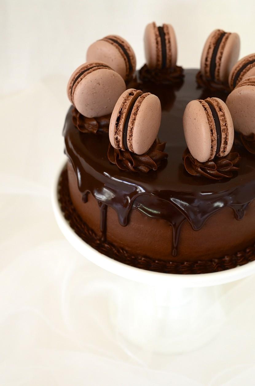 The ultimate layered chocolate cake with glossy ganache | Cake Friday