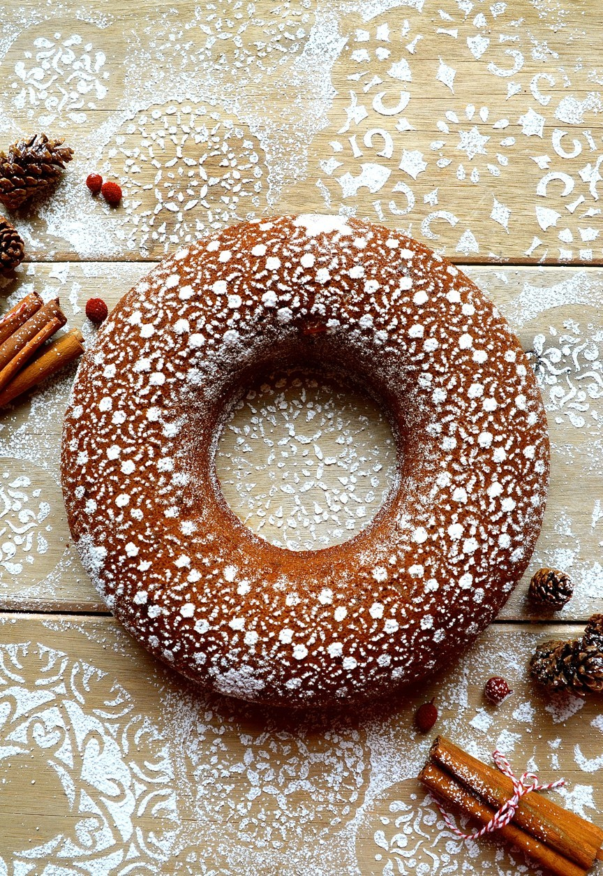 Gingerbread Bundt cake | Bibby's Kitchen Christmas recipes