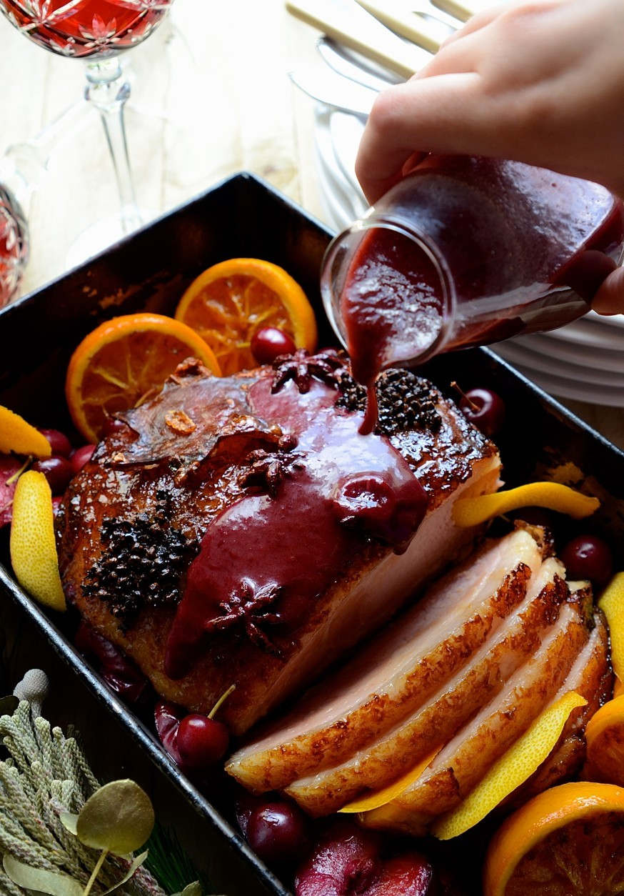 Maple glazed gammon with plum sauce | Holiday roasts | Meat | South African favourites | Food|
