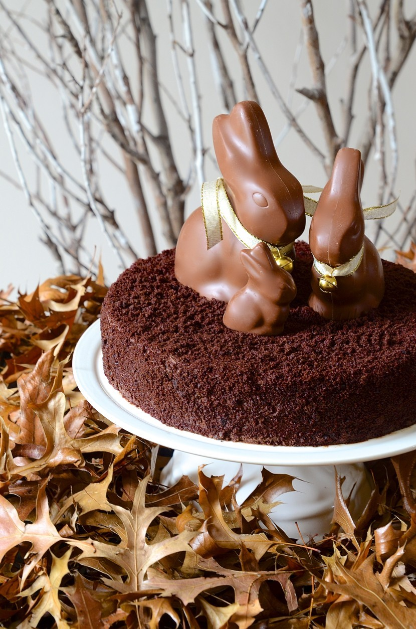 Easter egg cups with white chocolate mousse and lemon curd yolks + Baked Nutella chocolate mousse torte | Dianne Bibby is a Johannesburg food stylist, recipe developer, and food blogger. | Bunny