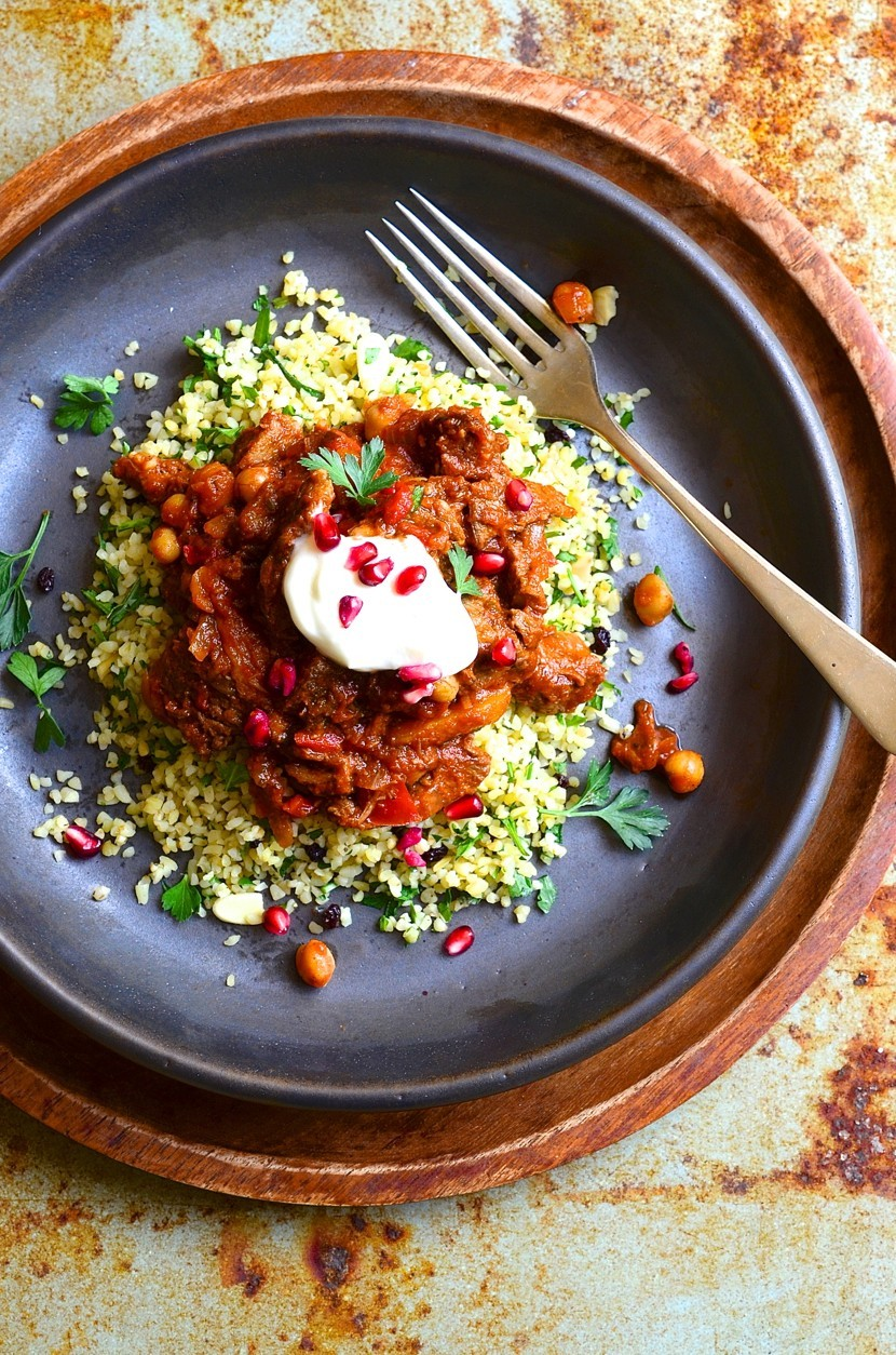 North African Lamb Tagine with Chickpeas
