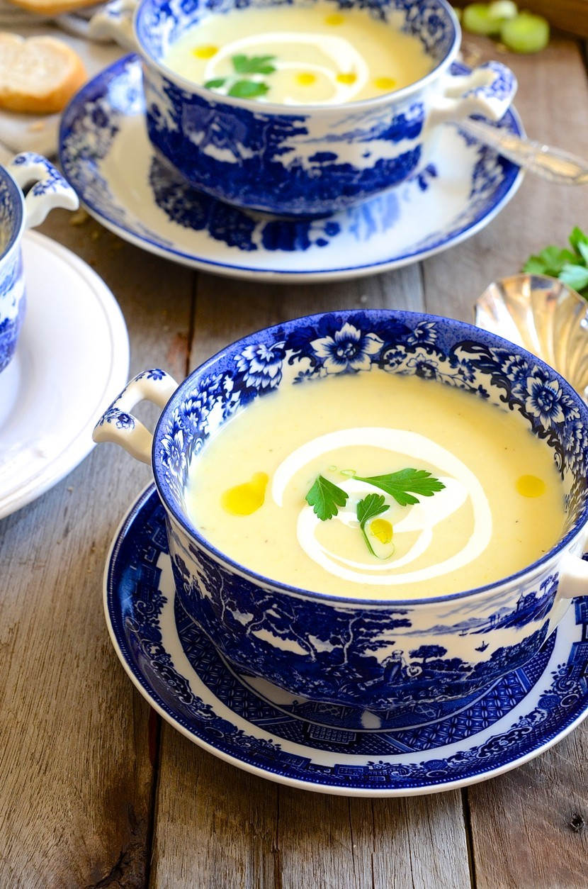 Pear, brie and leek soup | Bibbyskitchen soup recipes