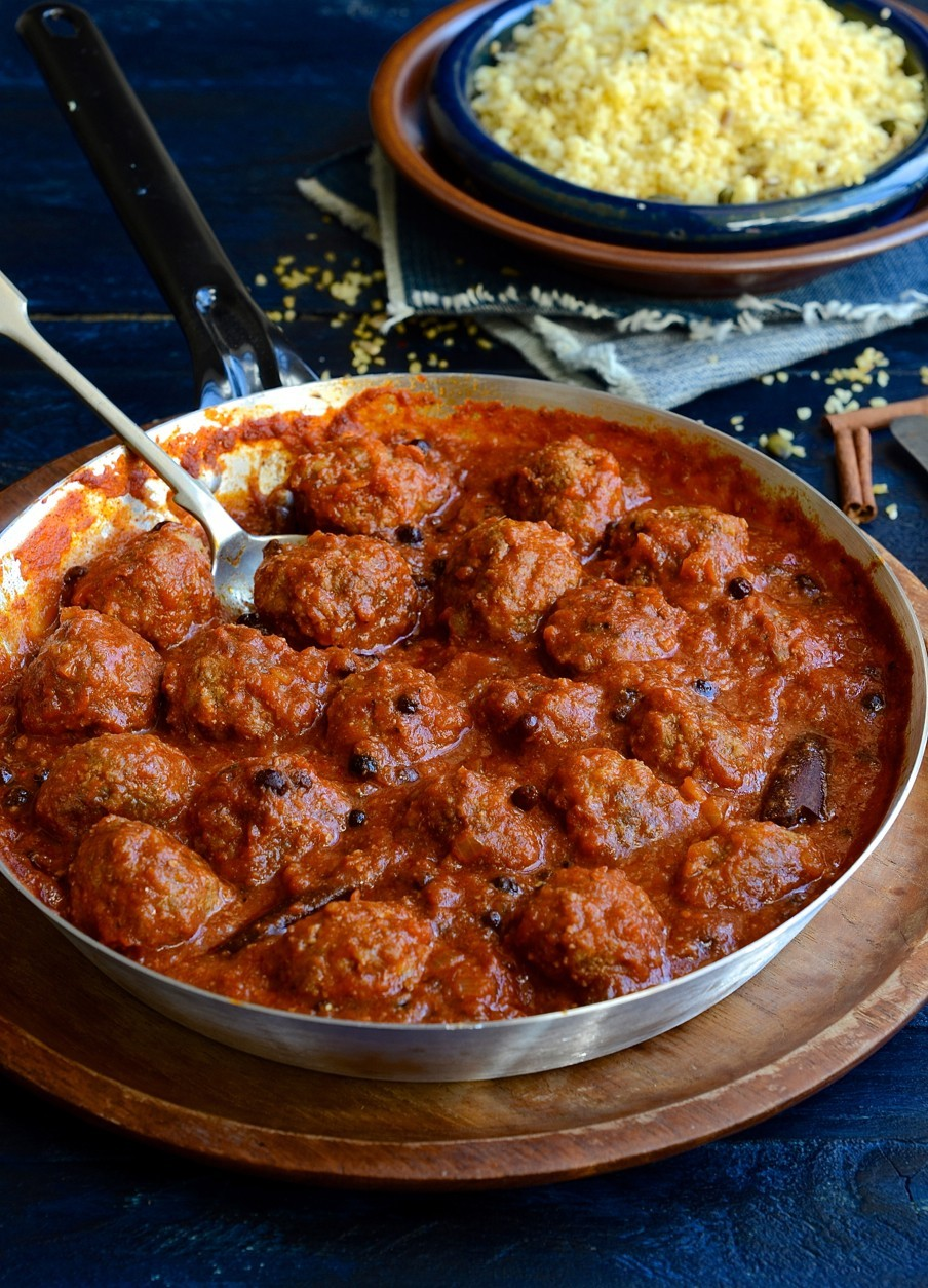 North African Chermoula meatballs | Bibbyskitchen recipes