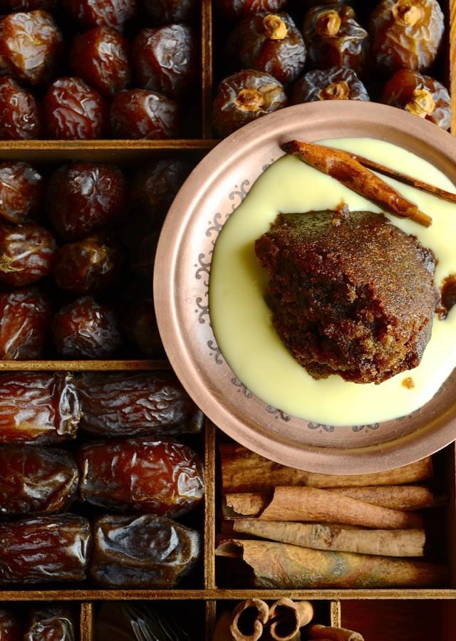 Spiced Cape Brandy pudding aka Tipsy tart