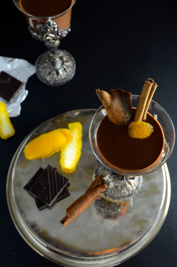 Spiced Rum Hot Chocolate | Bibby's Kitchen recipes