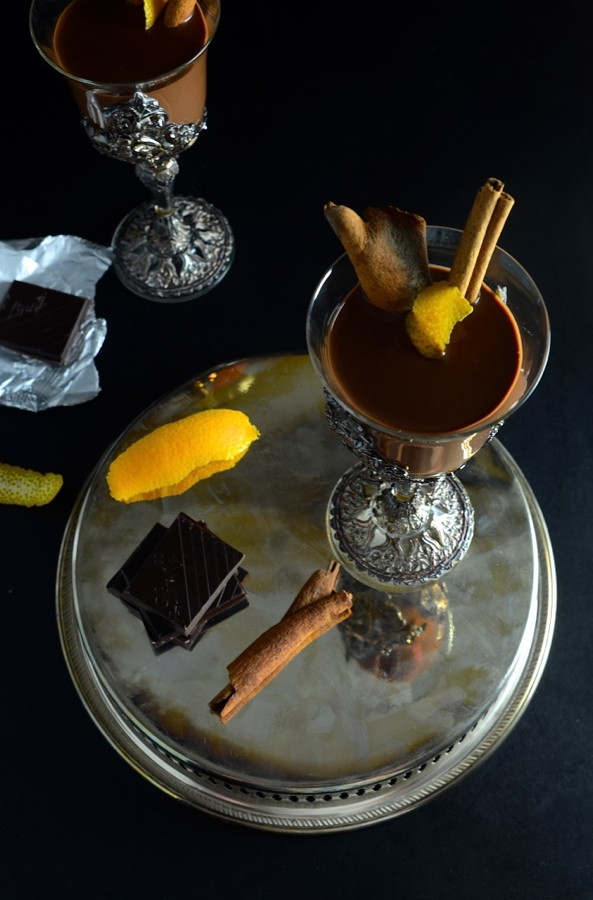 Spiced Rum Hot Chocolate | Dianne Bibby is a Johannesburg food stylist, recipe developer, and food blogger. | Rum