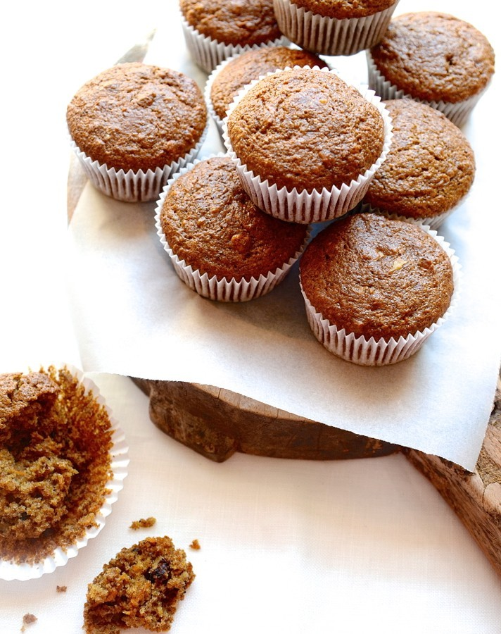 Apple and carrot spelt breakfast muffins   Best healthy muffins recipe