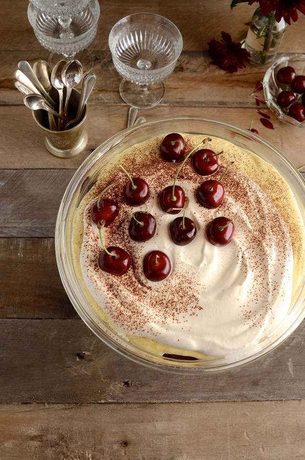 Black Forest Tiramisu | Bibbyskitchen dessert recipes