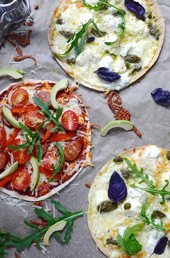 Zero to Hero Skinny Pizzas | Dianne Bibby is a Johannesburg food stylist, recipe developer, and food blogger. | Bk pizza