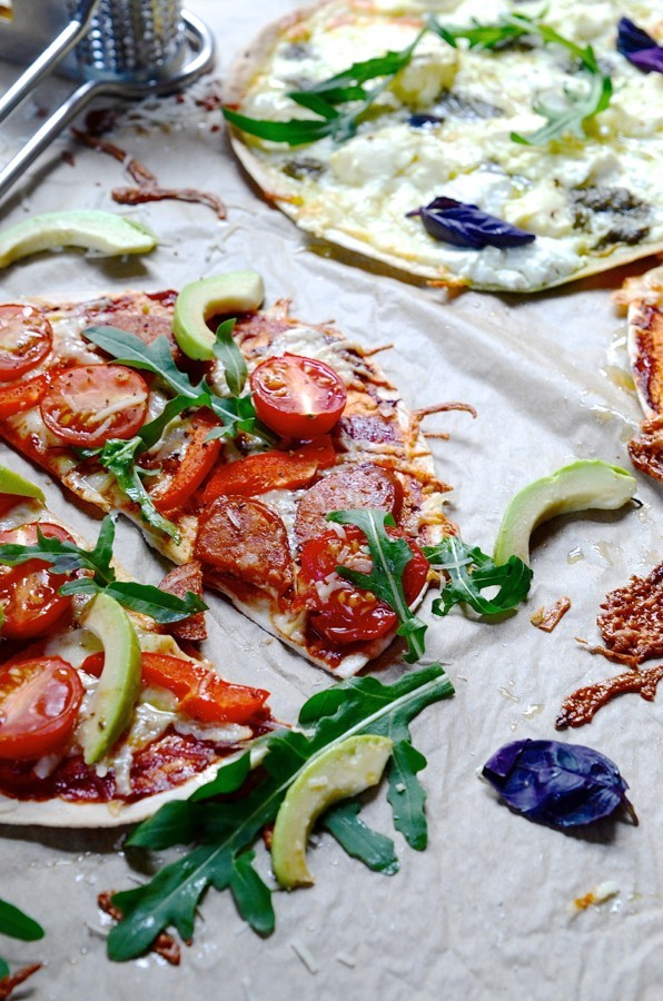 Zero to hero skinny pizzas
