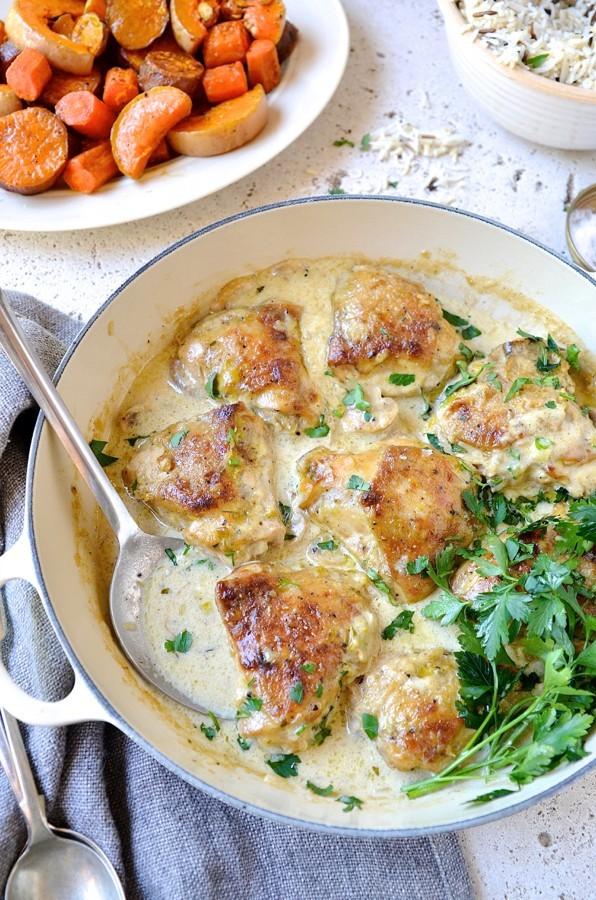 Chicken and leek casserole_1