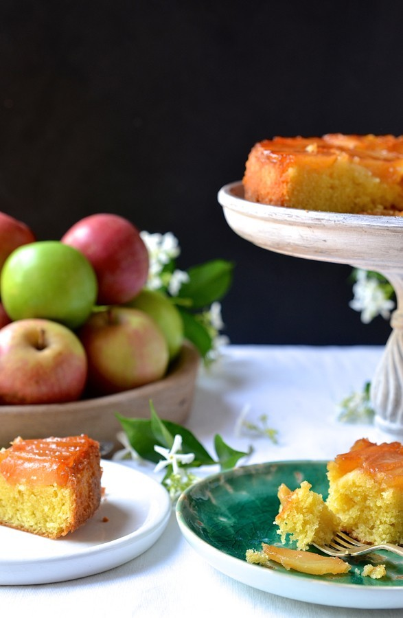 Cognac apple cake|Martell cognac recipe development