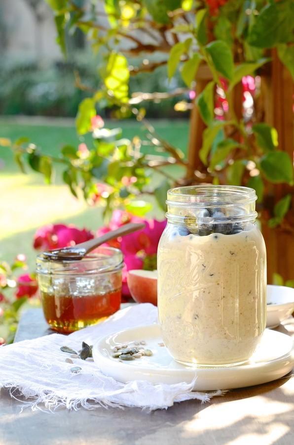 Creamy Overnight Bircher Muesli