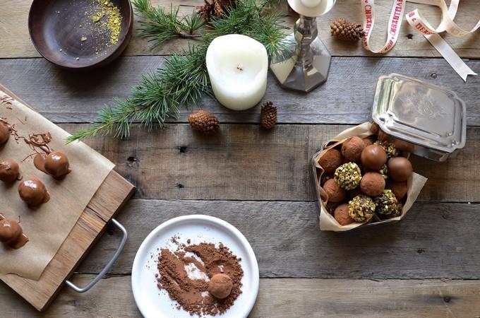 Coconut Cream Chocolate Truffles | Bibbys Kitchen