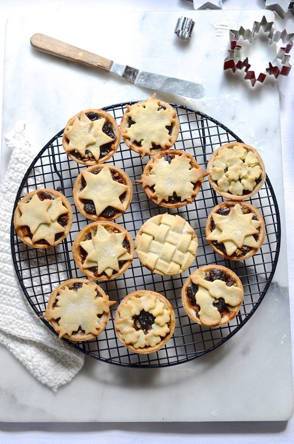 Cookie cutter mince pies | Bibby's kitchen Christmas baking