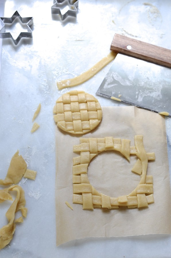 Cookie cutter mince pies   Bibby's kitchen Christmas baking
