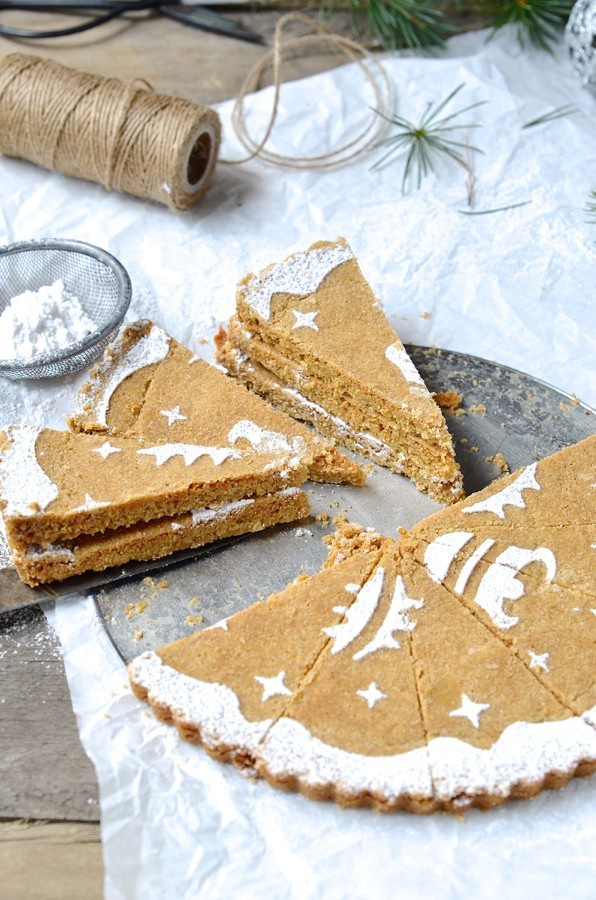 Ginger and oat shortbread_5