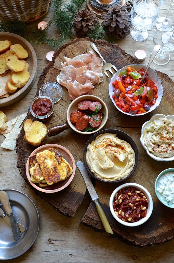 Portable Tapas Bar | Dianne Bibby is a Johannesburg food stylist, recipe developer, and food blogger. | Portable tapas bar