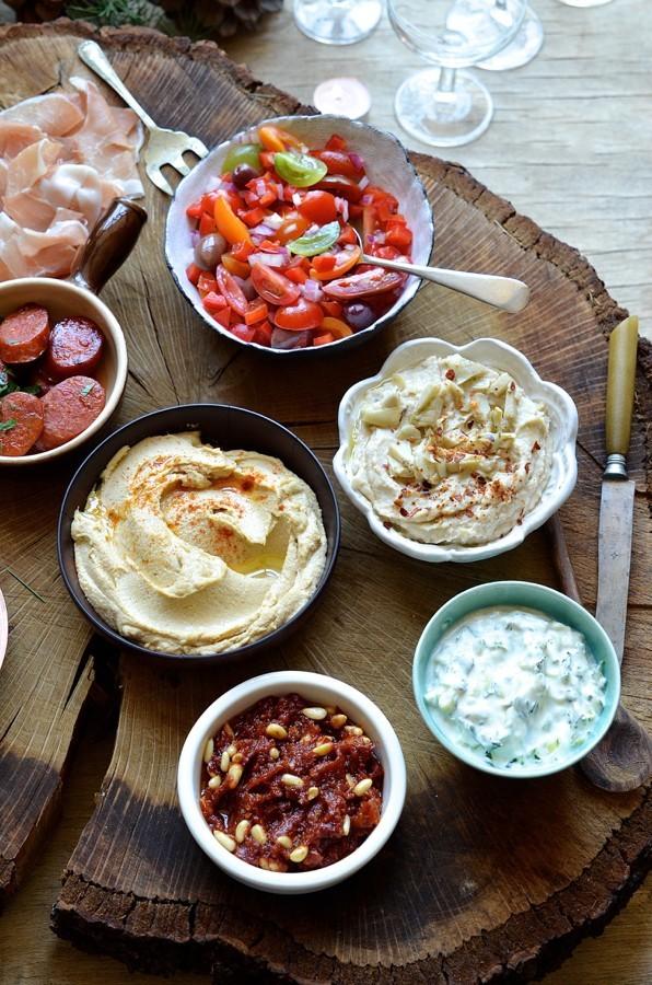 Portable tapas bar | best summer party food | Bibbyskitchen recipes
