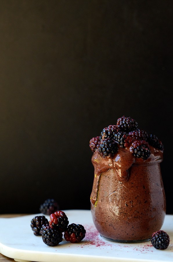Chocolate and blueberry Nice cream|healthy breakfasts