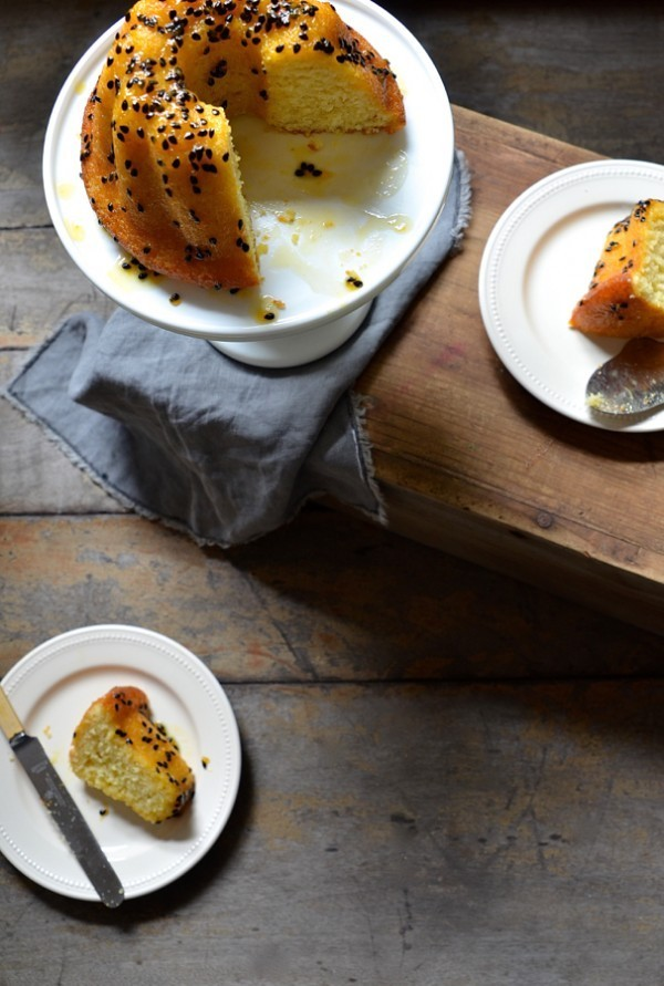 Greek yoghurt cake | Bundt cake recipes on Bibbyskitchen
