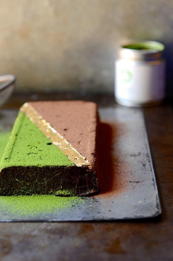Matcha date fudge | Bibbyskitchen Healthy treats recipes