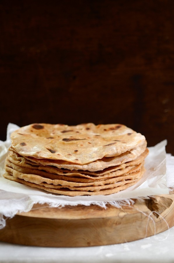 Easy yoghurt flatbreads | Middle Eastern bread recipes on Bibbyskitchen
