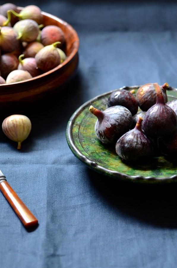 Roasted figs with gorgonzola cream | Bibbyskitchen recipes
