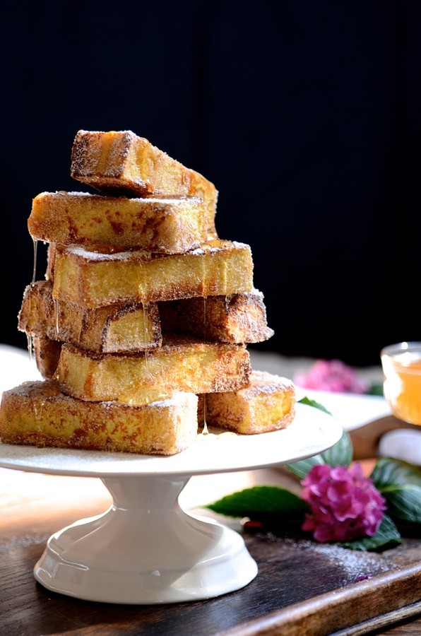 Churros french toast stack|Breakfast and brunch recipes