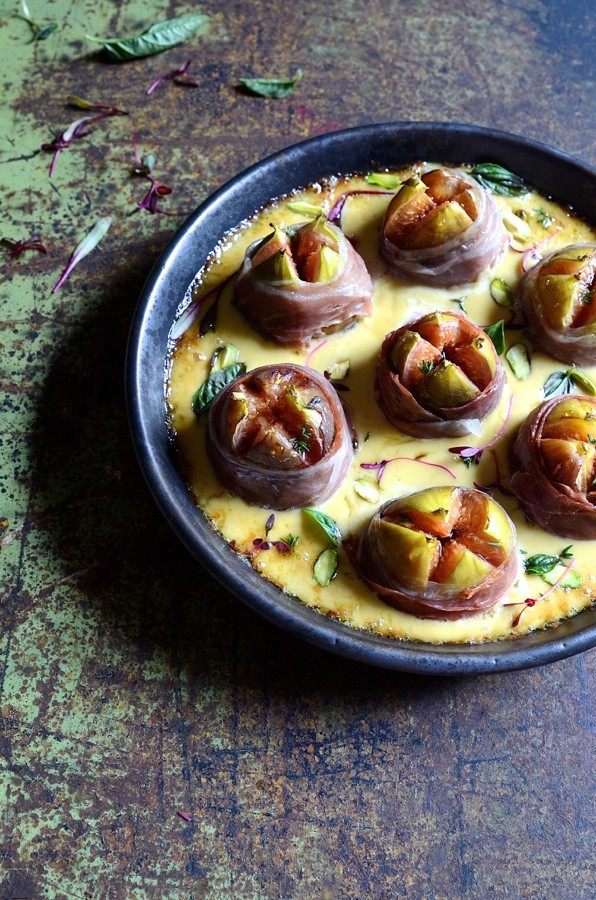 Roasted figs with gorgonzola cream_06