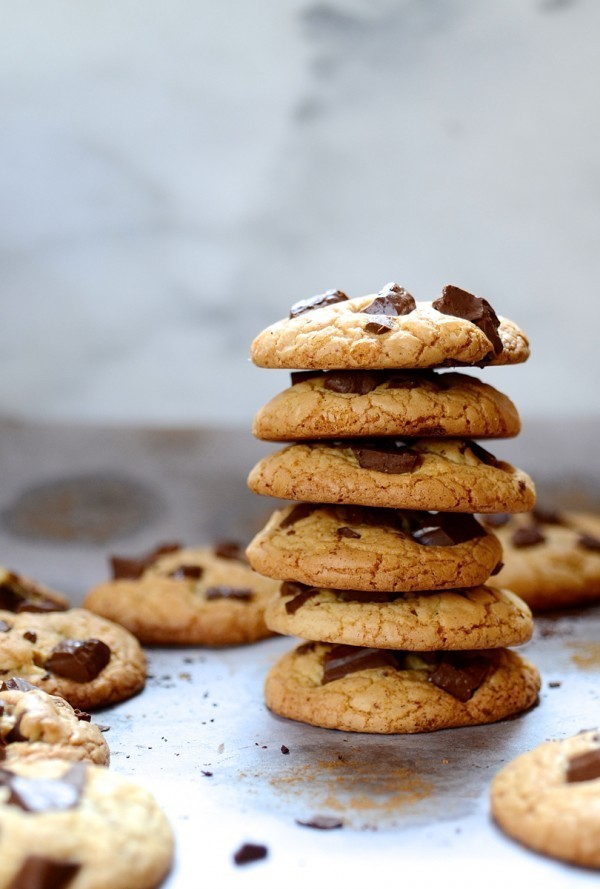 Brown butter chocolate chip cookies|easy cookie recipes