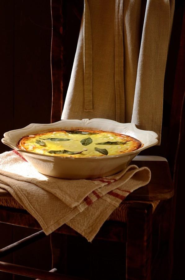 Roast butternut and lentil bobotie