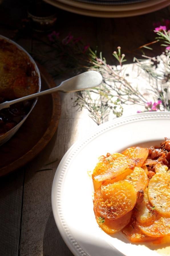 Red wine beef stew with potato gratin | Bibbyskitchen recipes
