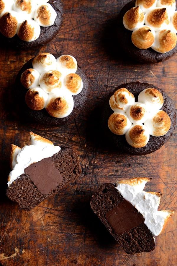 Gluten-free black bean brownie S'mores   Bibbyskitchen recipes