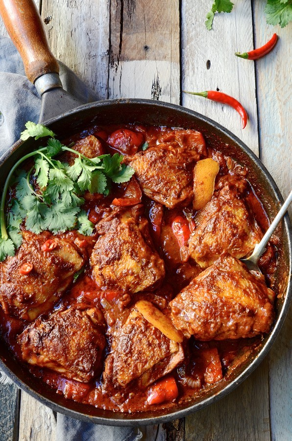 Mexican chipotle chicken casserole | Bibbyskitchen recipe development