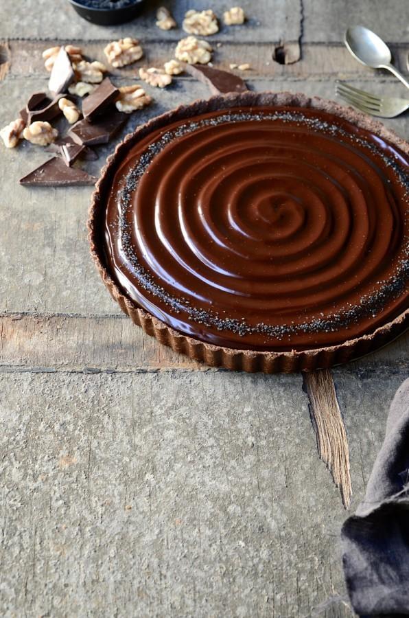 walnut caramel tart recipe myrecipes walnut slice caramel walnut pie ...