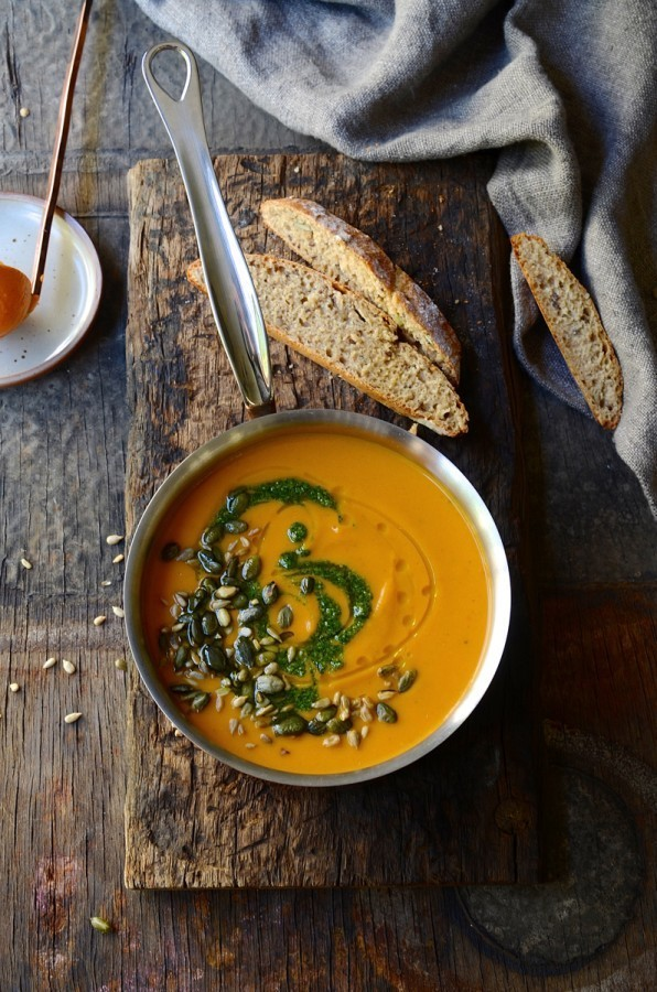 The everything-in vegetable soup | healthy vegetarian recipes