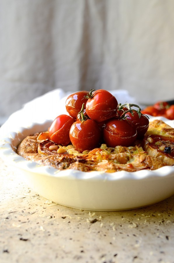 Roast butternut and blue cheese frittata | Easy family favourite recipes