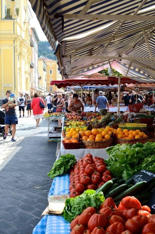Adventures in food - Nice and Apricale food tours travel blogger food markets