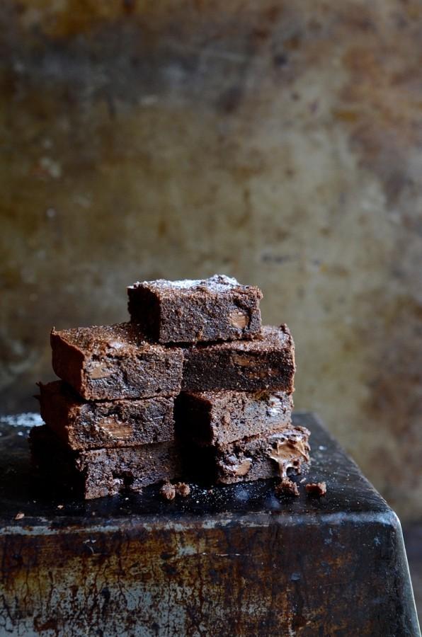 Gluten free cashew nut brownies| Bibbyskitchen recipes