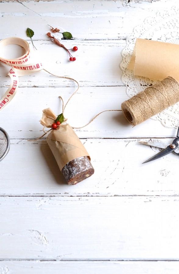 Rum and raisin chocolate salami | Bibbyskitchen recipes