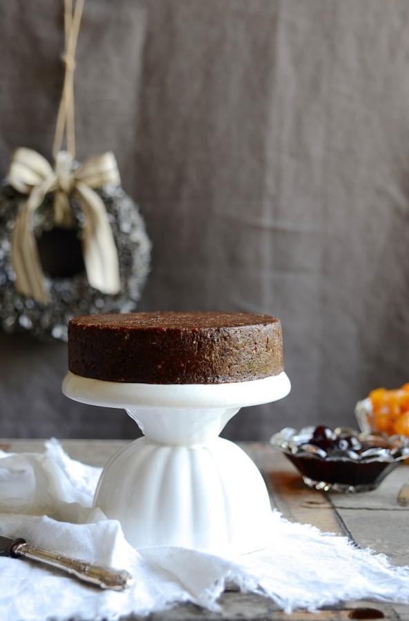 No-bake Christmas fruit cake  Bibbyskitchen baking recipes