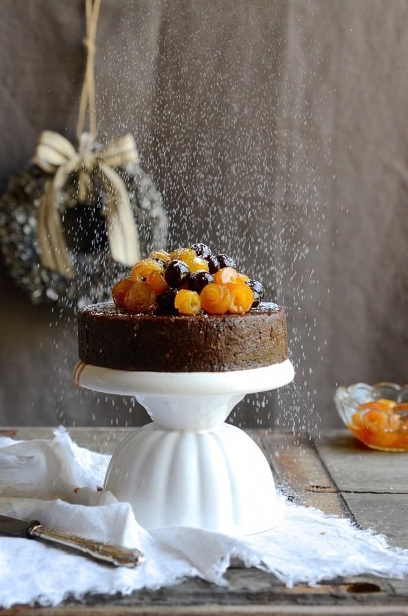 No-bake Christmas fruit cake |Bibbyskitchen baking recipes