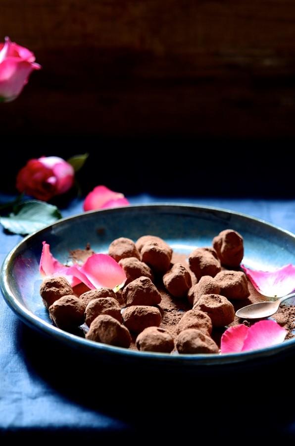 Chili chocolate truffles | Homemade chocolates |