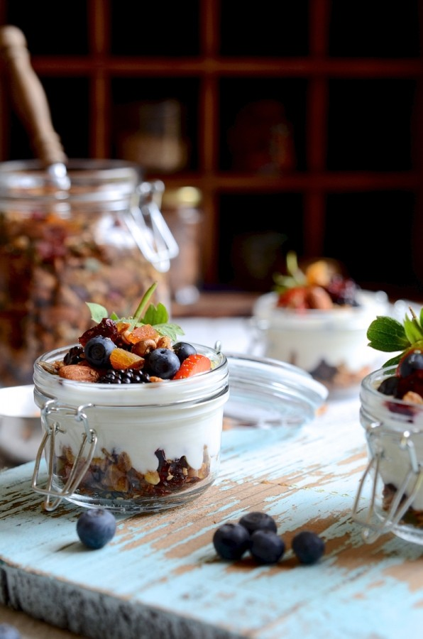 Everyday nut and honey granola