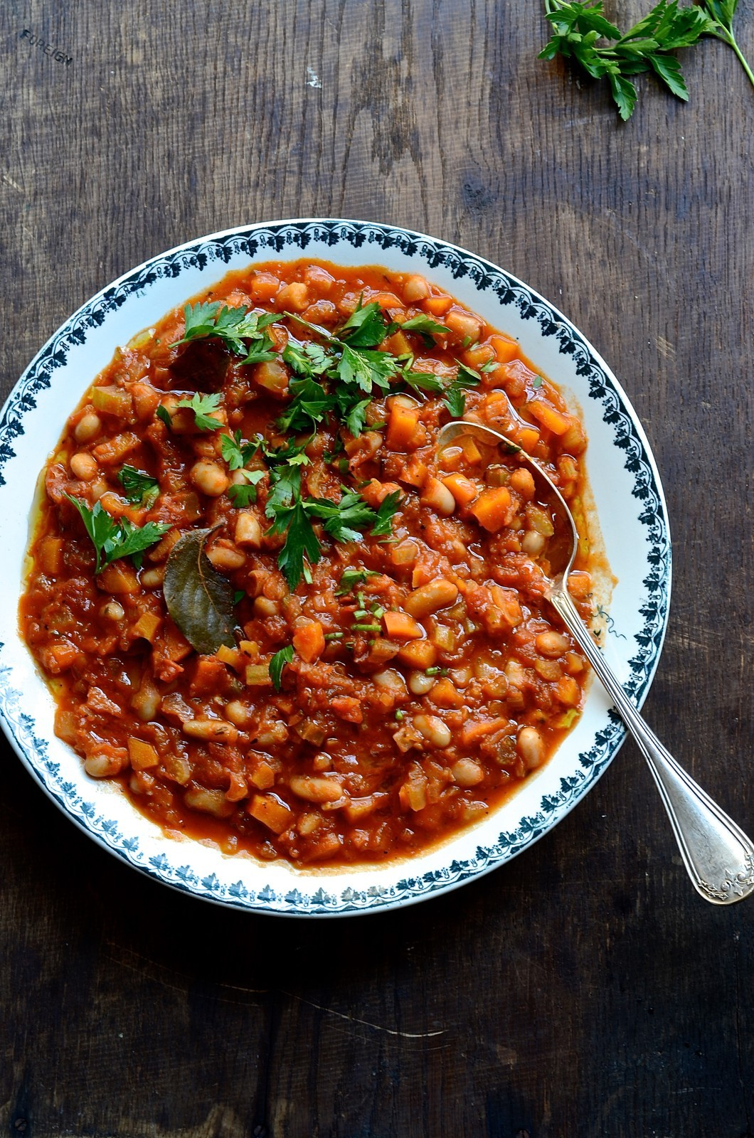 Fennel and cannellini bean stew | Bibbyskitchen recipes | Vegan recipes |