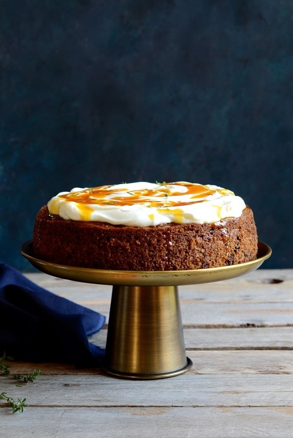 The best healthy carrot cake | Bibbyskitchen Cake Friday recipes