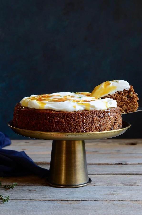 The best healthy carrot cake | Bibbyskitchen Cake Friday recipes