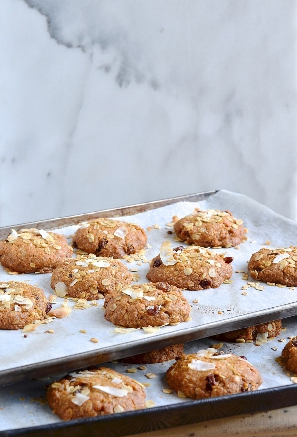 Anzac biscuits by Ottolenghi and Helen